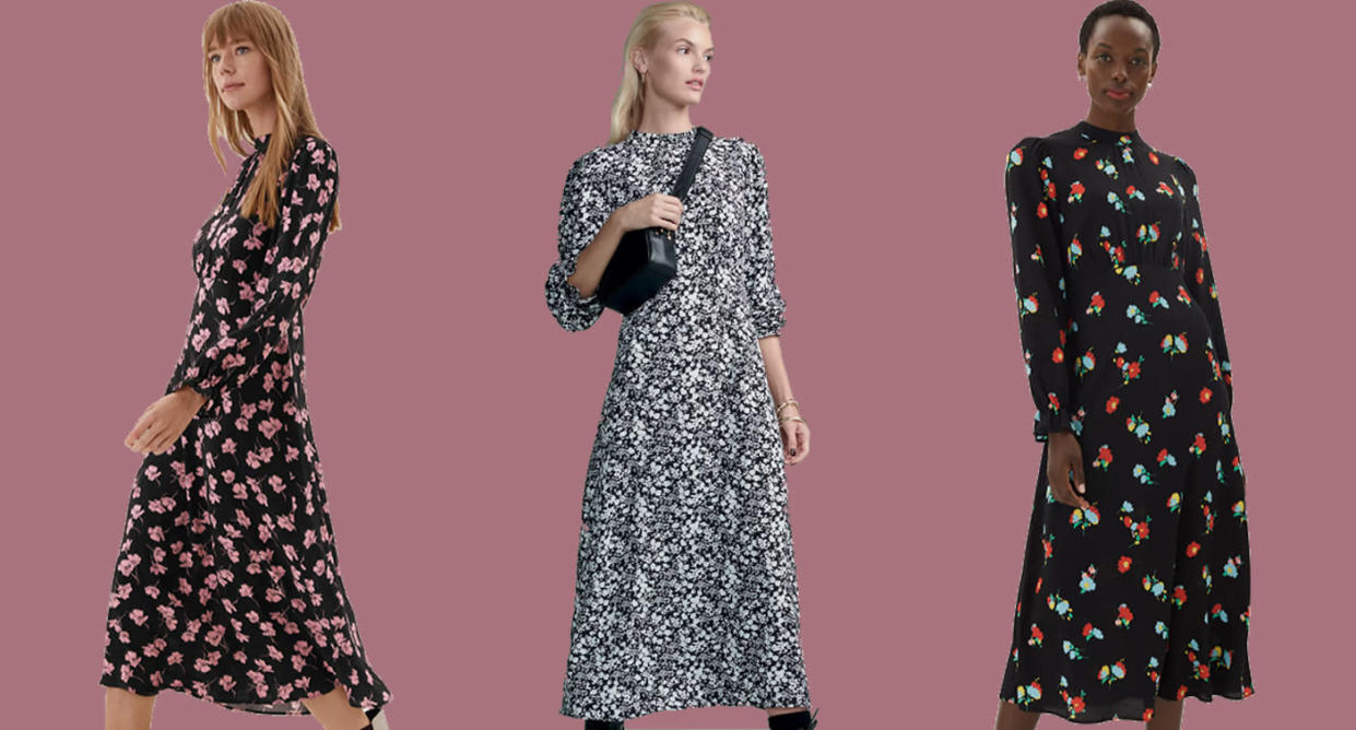 This M&S dress will definitely sell out this autumn. (Marks & Spencer)