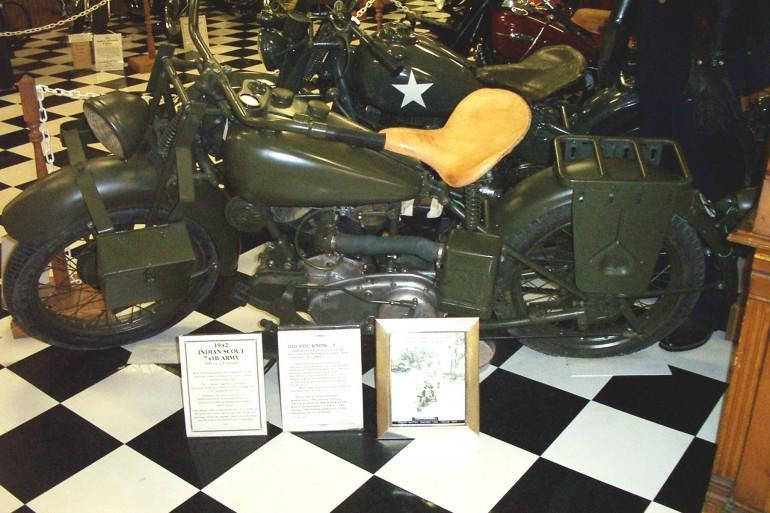 1942 Indian Scout Military issue