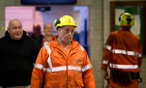 Miners' final shift as Britain's last deep mine closes