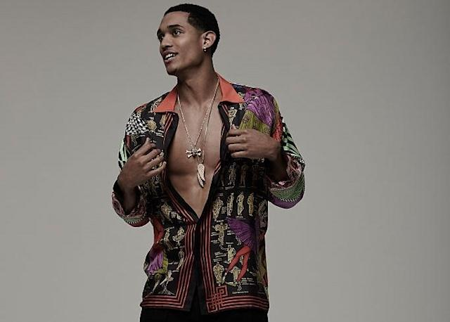 "<a class=""link rapid-noclick-resp"" href=""/nba/players/5357/"" data-ylk=""slk:Jordan Clarkson"">Jordan Clarkson</a> bares all in a FSHN Magazine shoot. (Getty Images)"
