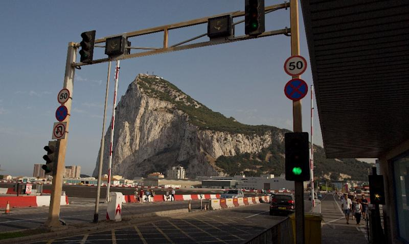 """Gibraltar has accused Spain of causing long traffic jams with tightened border controls, saying it was """"clearly a response"""" to rising political tensions over the territory with Brexit"""