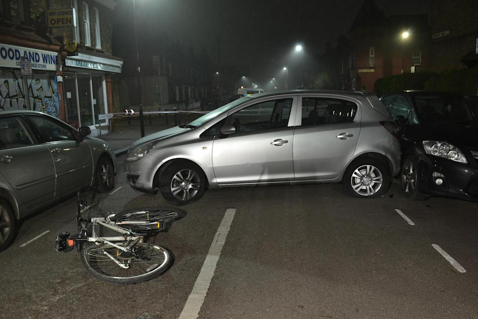 The night before the attack on Kamali and the other victim, the group had parked a car, a silver Peugeot 307 on the Broadwater Farm Estate, which would become their meeting point before and after the attack. (Met Police)