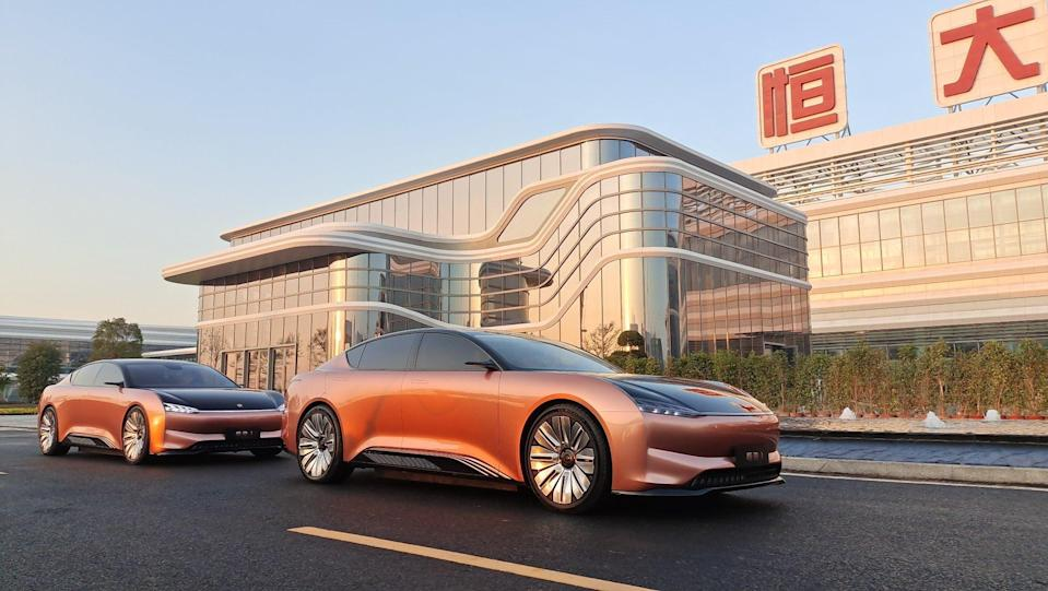 China Evergrande and Tencent Holdings will set up a company to co-develop smart vehicle operating system as competition heats up amid Beijing's push to accelerate smart and green vehicles. Photo: Handout