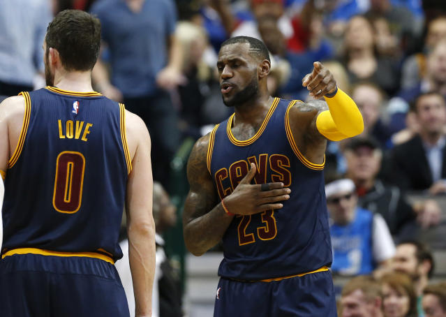 Kevin Love isn't 'best friends' with LeBron James, so let's all freak out