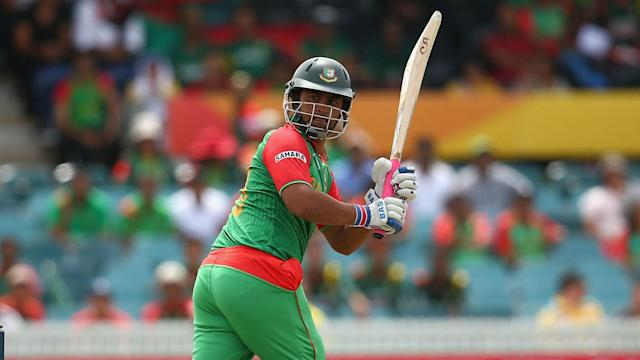 Tamim Iqbal's knock of 127 helped Bangladesh follow their Test victory in Sri Lanka with a win in the first one-day international.