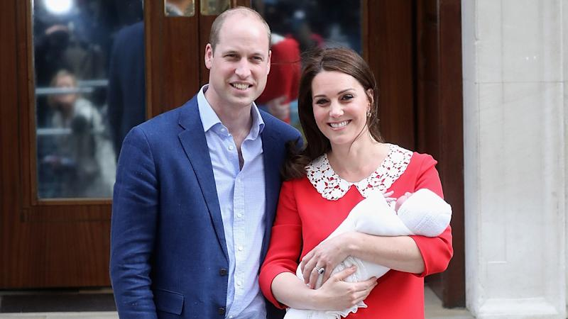 Kate Middleton and Prince William Announce Details of Son Prince Louis' Christening Service