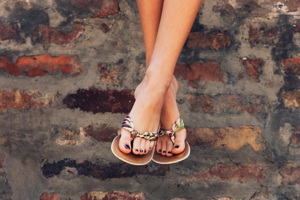 Shop all the best products to get your feet looking warm-weather ready.