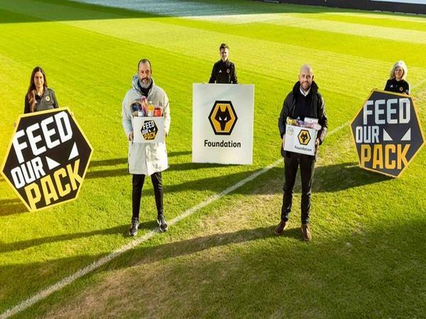 Santo donates PS250,000 to help fight poverty amid COVID-19 pandemic. (Photo/ Wolves Twitter)