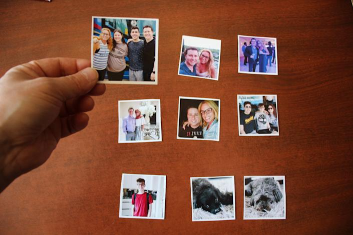 As a fun project for the kids, and kids at heart, feed magnetic sheets of paper through your inkjet printer to create custom fridge magnets with your family photos.