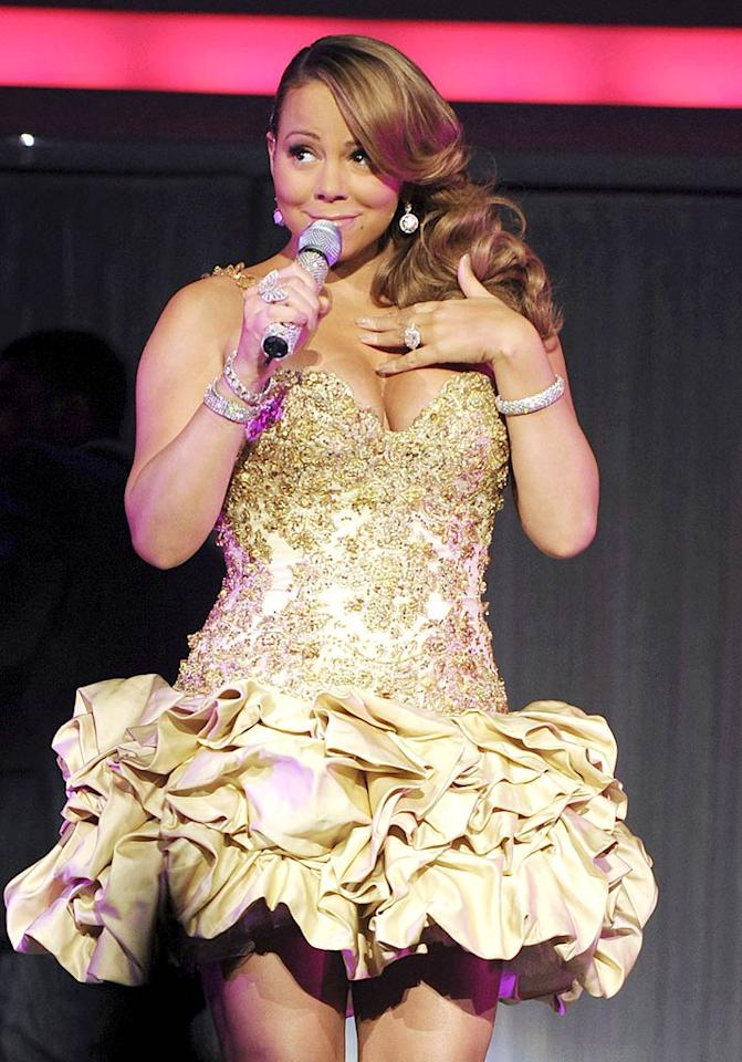 "Perez Hilton reported this week that ""Mariah Carey is planning to turn her life into a stage musical."" According to Hilton, Carey's not planning on playing herself, but would like Leona Lewis to portray her in the musical instead. Really? Read <a href=""http://www.gossipcop.com/mariah-carey-musical-leona-lewis/"">Gossip Cop</a> to see whether Perez's story about the diva is off key. George Pimentel/<a href=""http://www.wireimage.com"" target=""new"">WireImage.com</a> - February 9, 2010"