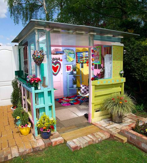Competing in the Budget category,Ilona's Summerhouse – owned by Ilona in North Lincolnshire - is a colourful addition to the contest. (Pic: Supplied)