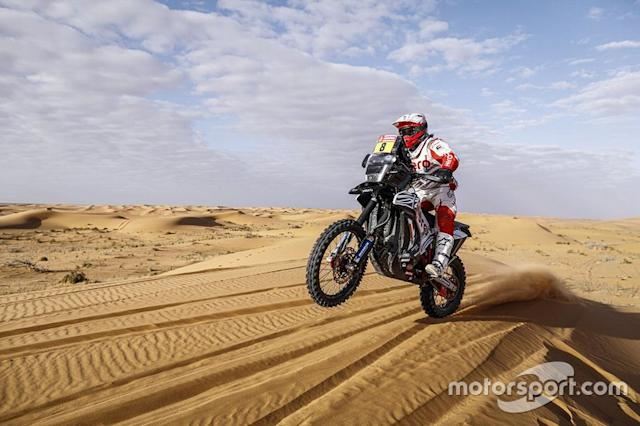"#8 Hero Motosports Team Rally: Paulo Goncalves <span class=""copyright"">Motul </span>"