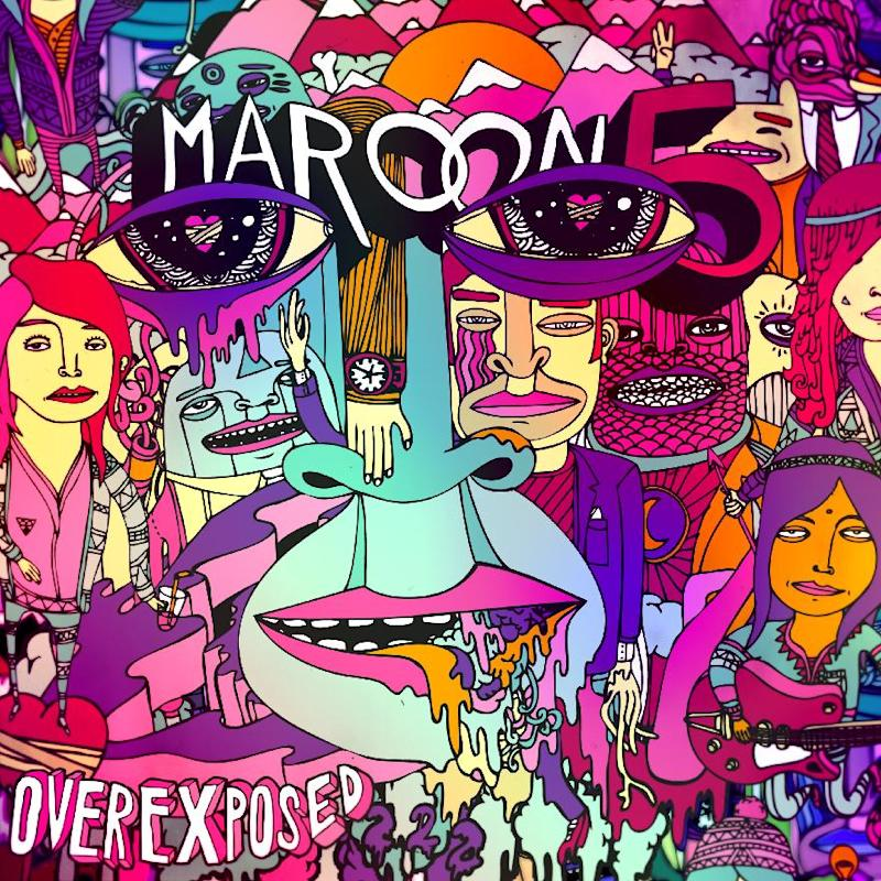 """This CD cover image released by A&M/Octone Records shows the latest release by Maroon 5, """"Overexposed."""" (AP Photo/A&M/Octone Records)"""