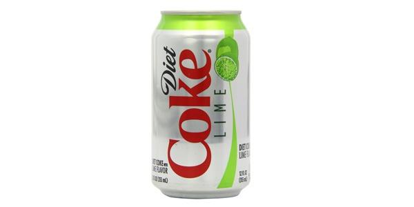 diet soda diet coke with lime