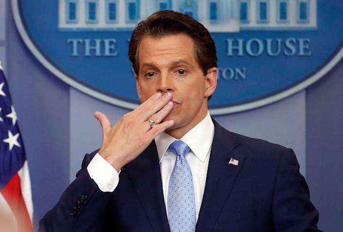 Former White House communications director Anthony Scaramucci.