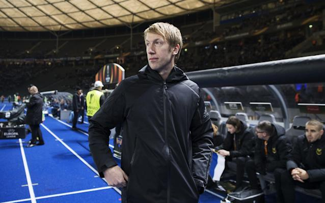 "Swansea City are weighing up an approach for Graham Potter, manager of Ostersunds, after Carlos Carvalhal departed the relegated Premier League club. Potter is emerging as a serious contender to replace Carvalhal as Swansea pursue their fifth managerial appointment in 19 months. The former Stoke and West Brom defender has established an excellent reputation at the Swedish club and was interviewed by Swansea before Carvalhal's appointment in December. Potter, 42, is believed to be open to the prospect of managing in the Championship and Swansea are considering a move as they prepare for a busy summer. Swansea's drop into the Championship was confirmed last weekend after the 2-1 defeat to Stoke and Carvalhal is departing after a dreadful run of form and huge question marks over his tactics and approach. Carlos Carvalhal told the media he thought he had done a good job Credit: GETTY IMAGES The former Sheffield Wednesday manager, 52, had appeared on course to navigate a route to survival after taking 17 points in his first nine games but results and performances began to unravel in the final months of the campaign. Swansea's board have now decided he is not the man to take them forward in the second tier and his departure was confirmed on Friday afternoon. His contract expired at the end of this season and an option to extend that deal will now not be activated. Huw Jenkins, the under-fire chairman, said: ""Naturally we are all disappointed with the club's relegation from the Premier League and, following discussions with Carlos, we felt it was in the best interests of both parties that we move in a new direction."""