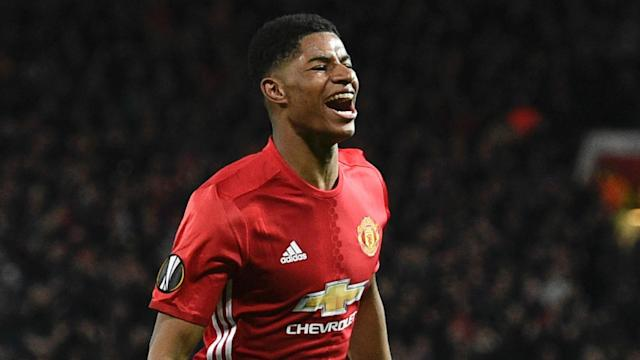 The Red Devils legend feels the teenage forward will continue to struggle for central striker starts, but feels he can flourish in a wider role