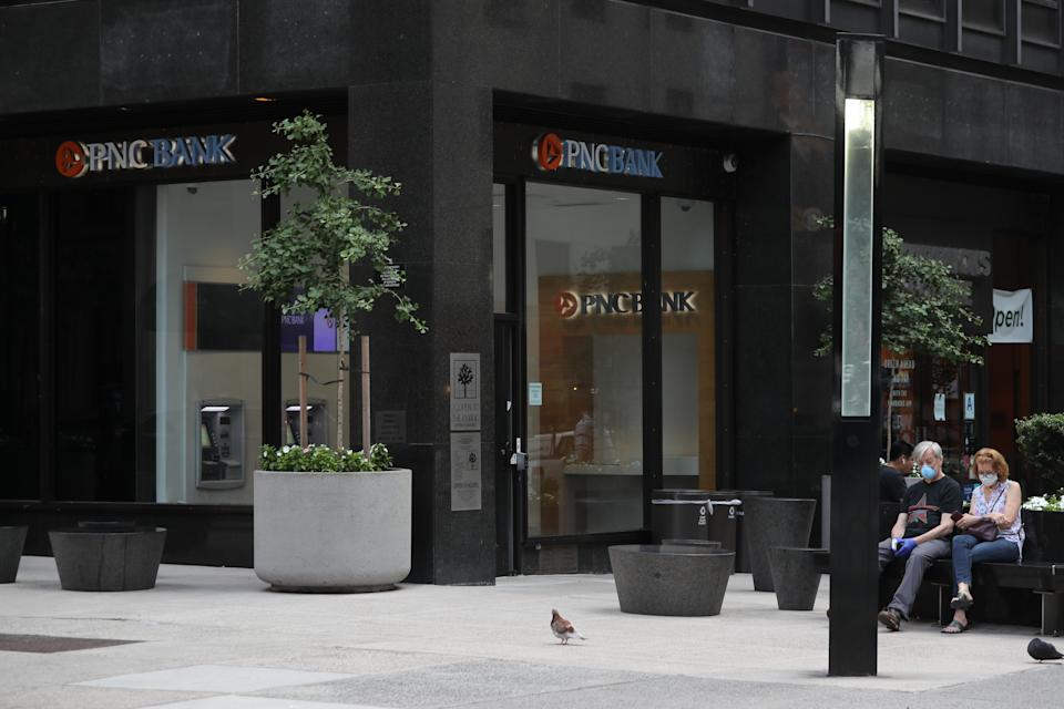 A PNC Bank in New York City. (Photo: Rob Kim/Getty Images)