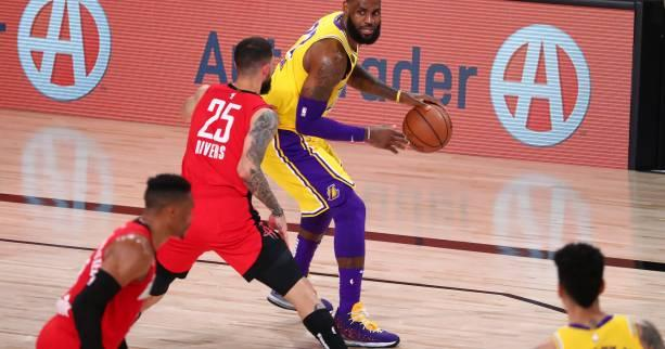 Basket - NBA - Les Los Angeles Lakers se détachent face à Houston