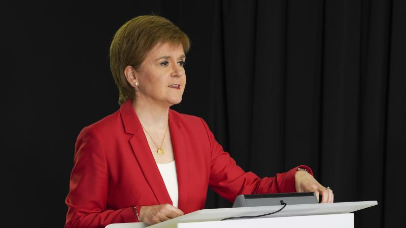 Scotland has opportunity on virus but faces 'real danger', Sturgeon warns