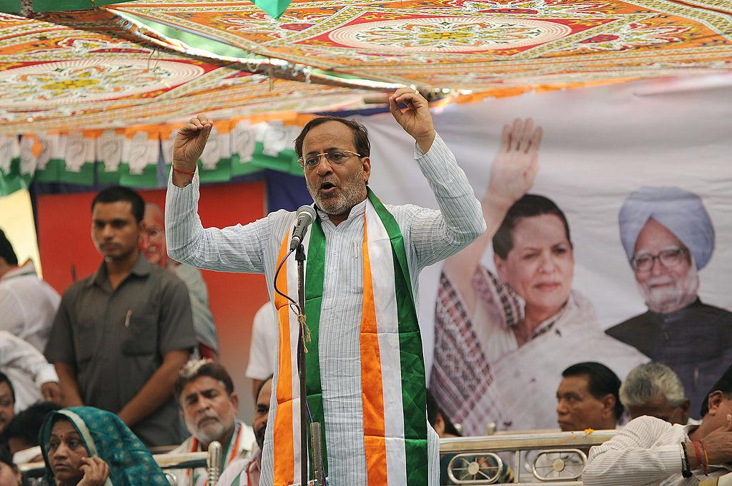"""""""Only Donkey has a 56-inch chest - Arjun Modhwadia."""" - The Congress leader from Gujarat mocked PM Modi's assertion of having a 56-inch chest."""