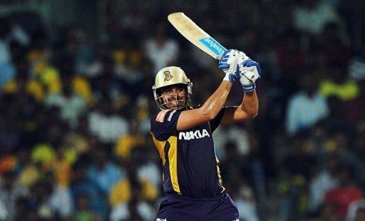Kolkata Knight Riders batsman Manvinder Bisla plays a shot during the IPL Twenty20 cricket final match between Chennai Super Kings and Kolkata Knight Riders at the M.A. Chidambaram Stadium in Chennai. Kolkata Knight Riders found a surprise hero in Bisla to bag the maiden Indian Premier League title with a five-wicket victory