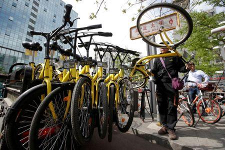 Bike-sharing firm ofo raises over US$700m in latest funding round