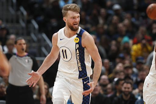 Sabonis' triple double leads Pacers past nuggets 115-107
