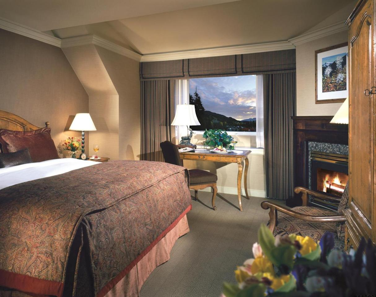 <p>Puppet making, Christmas bonfires, bedtime stories with Mrs Claus and a Christmas dance party are just some of the activities The Fairmont has to offer. It's also right by the slopes, so there will definitely never be a dull moment. <i>[Photo: The Fairmont Chateau Whistler]</i></p>