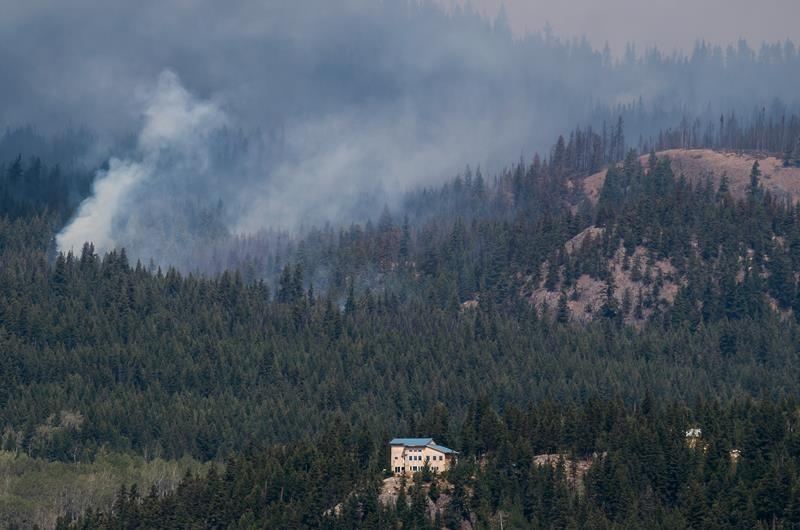 British Columbia wildfire season now second worst in province's history