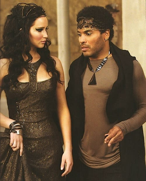 Katniss and Cinna, Hunger Games, Catching Fire