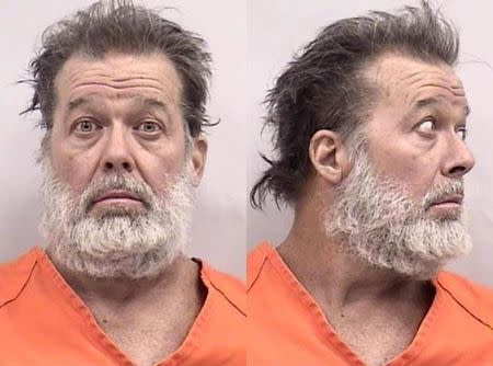 Robert L. Dear is seen in an undated picture released by the Colorado Springs (Colorado) Police Department November 28, 2015. REUTERS/Colorado Springs Police Department/Handout via Reuters