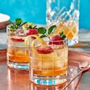 <p>This low-alcohol spritzer is just the thing to imbibe on a hot summer's day. Gentian liqueurs are made from the roots of gentian, a blue-petaled wildflower that grows throughout the Alps. This recipe makes about 1 cup of syrup but you'll only need 1 Tbsp. to make each drink—try a splash in seltzer for a DIY craft soda.</p>