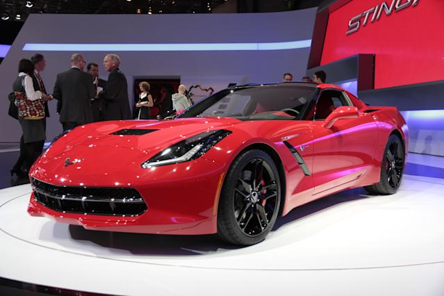 <strong>Corvette Stingray</strong>: Over here, the Corvette has never enjoyed the same sort of fan base that it does Stateside, but the latest model might just swing that a little. (PA)