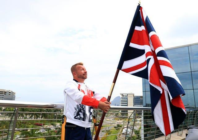 Lee Pearson was selected as Britain's flagbearer at Rio 2016
