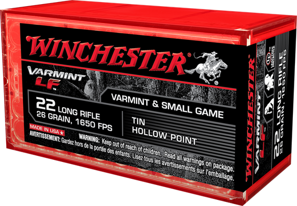 Box of Winchester ammunition.