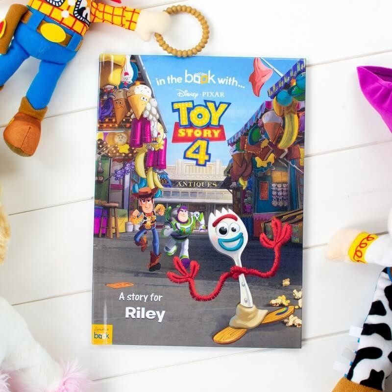 "<p><a class=""body-btn-link"" href=""https://go.redirectingat.com?id=127X1599956&url=https%3A%2F%2Fwww.prezzybox.com%2Fpersonalised-toy-story-4-story-book.aspx&sref=https%3A%2F%2Fwww.prima.co.uk%2Ffamily%2Fkids%2Fg34655%2Fbest-personalised-childrens-books%2F"" target=""_blank"">BUY NOW</a> <strong>Prezzybox, £17.99</strong></p><p>Step aside, Woody... your little one will be the main star in this personalised Toy Story 4 book. Your child can join Buzz and the gang for the final hurrah, and they can even have their photo on the back page of the book. Super cute.</p>"