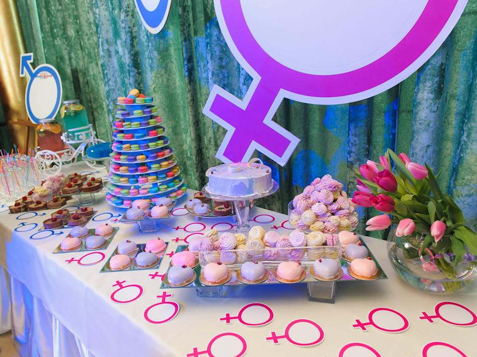 <p>Gender reveal parties have become popular among couples with the rise of social media</p> (Getty Images/iStockphoto)