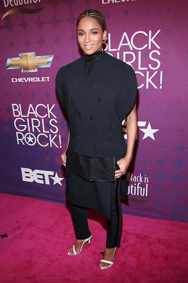 NEW YORK, NY - OCTOBER 13:  Ciara attends Black Girls Rock! 2012 at the Paradise Theater on October 13, 2012 in the Bronx borough of New York City.  (Photo by Rob Kim/FilmMagic)