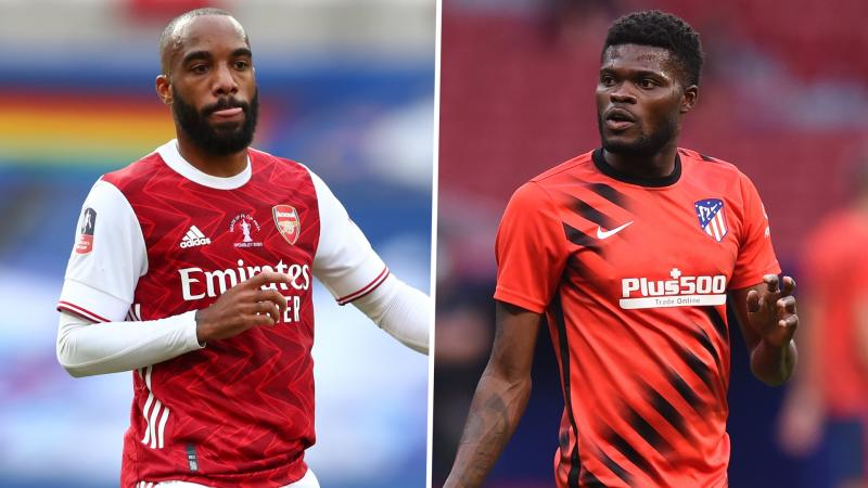 'Let Lacazette go if it means getting Partey' – Campbell urges Arsenal to sign Atletico Madrid midfielder