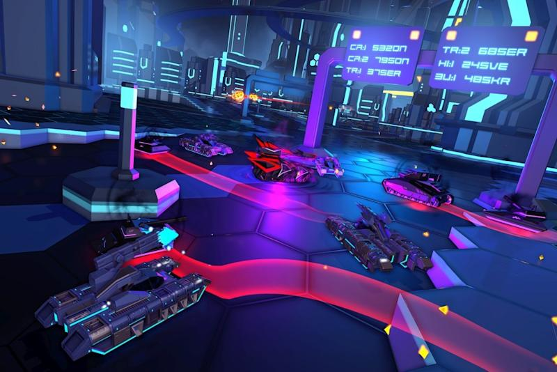 PlayStation VR launch title 'Battlezone' boasts online co-op, procedural campaigns