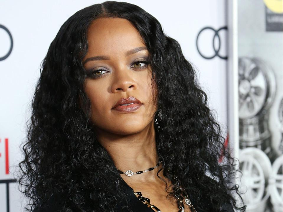 Rihanna has expressed her support for EndSARS protesters in Nigeria (Rex Features)