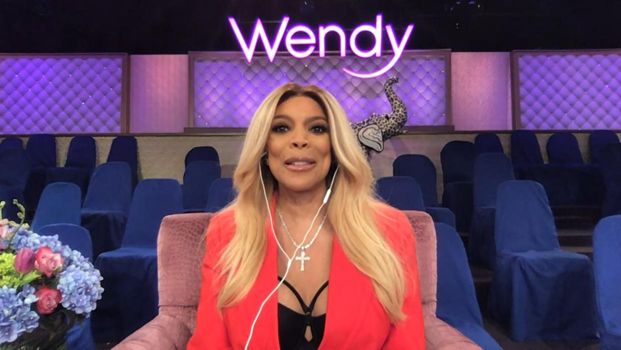 WATCH WHAT HAPPENS LIVE WITH ANDY COHEN @ HOME -- Episode 17152 -- Pictured in this screen grab: Wendy Williams -- (Photo by: Bravo/NBCU Photo Bank via Getty Images)