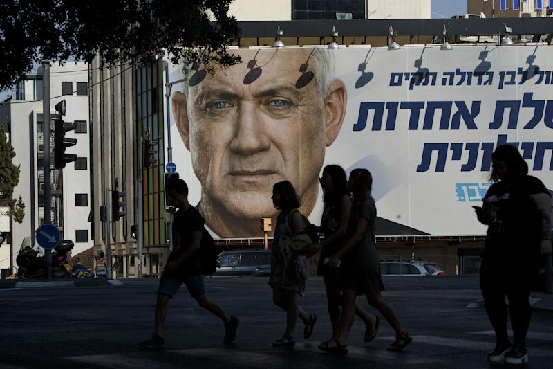 Deadlocked Israeli Rivals Slug Out This Year's Second Election