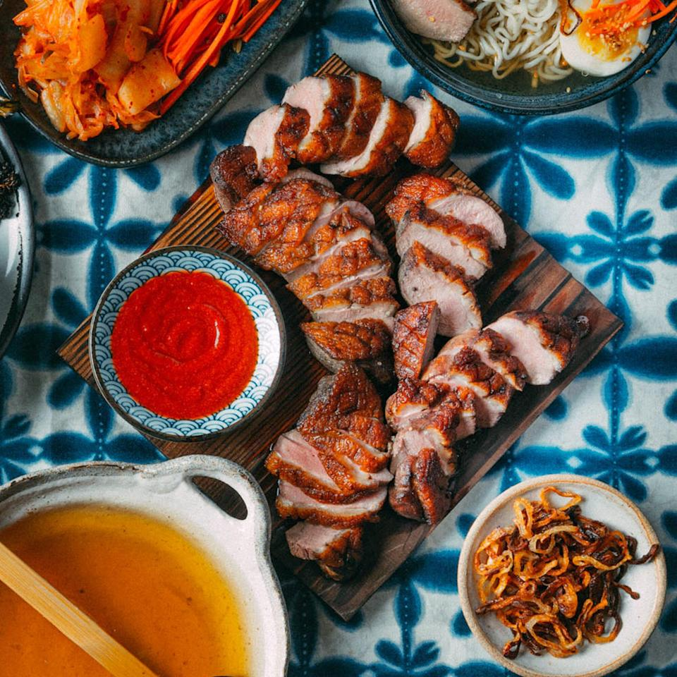 Five-Spice Duck Breasts