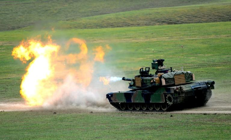Taiwan has said M1A2 Abrams battle tanks would greatly enhance its defensive capabilities (AFP Photo/Vano Shlamov)