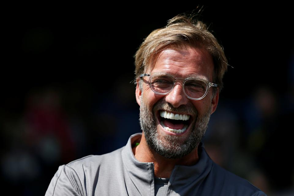 Soccer Football - Pre Season Friendly - Bury v Liverpool - The Energy Check Stadium, Bury, Britain - July 14, 2018   Liverpool manager Jurgen Klopp before the match   Action Images via Reuters/Ed Sykes