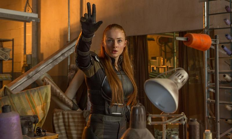 Sophie Turner in 'X-Men: Apocalypse' (credit: 20th Century Fox)