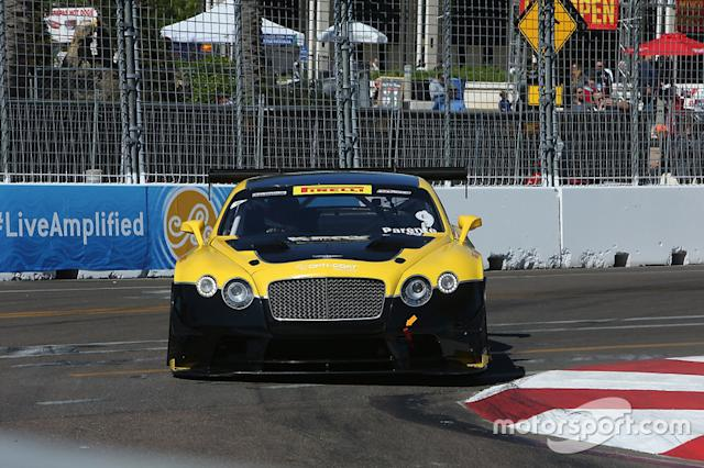 "#9 K-PAX Racing Bentley Continental GT3: Alvaro Parente <span class=""copyright"">Art Fleischmann</span>"