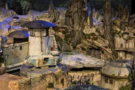 <p>The other major ride is the <em>Millennium Falcon</em> flight simulator. Your performance in the cockpit will dictate later encounters in the park. (Disney Parks/Joshua Sudock) </p>
